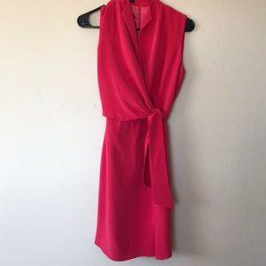 Jones New York silk wrap dress